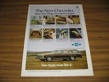 1977 Print Ad The '77 Chevrolet Caprice Classic Station Wagon Chevy