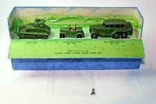 Dinky 152 Royal Tank Corps Light Tank Set, Excellent in Original Box Pre War
