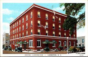 Postcard Hotel Lorraine in Lumberton, North Carolina~136090