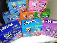 New listing 8 Boxes X 48 ( 384 ) Assorted Packs Packets Kool-Aid Drink Flavor Mix Pick 8