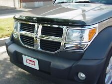 Dodge Nitro  2007 - 2012 Bug Hood Shield Deflector Stone Protector - Smoke