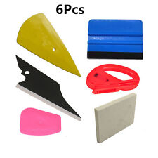 6in1 Squeegee Car Window Tinting Auto Film Install Wrapping Applicator Tool Kit