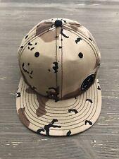 Billabong Fitted New Era Hat  7 1/2 Baseball Cap CAMO Blend - Rare EUC