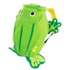 KNORRTOYS PaddlePak Kinderrucksack Frosch Ribbit (grün)