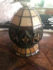 65134 Kichler Tiffany Style Stained Glass Inverted Ceiling Fixture GLOBE ONLY