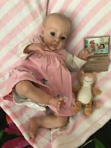 "Beautiful reborn baby 21"" Chloe (from Chloe kit by Natalie Blick) With COA"