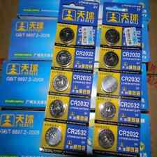 Lots 5PCS CR2032 DL2032 LM2032 3V Button Cell Coin Battery for Watch Toys Remote