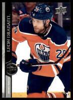 2020-21 UD Series 2 Base French #326 Leon Draisaitl - Edmonton Oilers