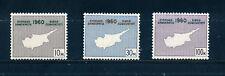 CYPRUS 1960 CONSTITUTION OF REPUBLIC SG203/205  MNH