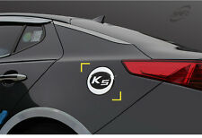 New Chrome Fuel Tank Cap Cover Molding Trim K165 for Kia Optima 11 - 15