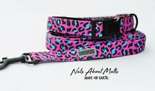 LEOPARD COLLAR & LEAD SET SPECIAL FREE SHIPPING!