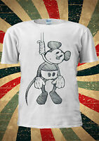 Suicide Mouse Mickey Hanging Disney Tumblr Fashion T Shirt Men Women Unisex 1771