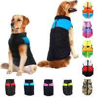 Waterproof Pet Dog Cat Vest Apparel Clothes Puppy Coat Winter Warm Jacket Zipper