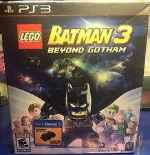 Rare! PS3 Playstation 3 Lego Batman 3 Beyond Gotham Game & Tumbler Mini - NEW