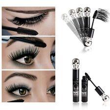 3D Black Makeup Waterproof Skull Eyelash Mascara Extension Fiber Curling Long E7