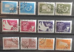 Romania 1974 SG D4050-55 Postage Due full set USED