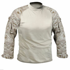 combat shirt desert digital camo tactical style, size XL, rothco 90020XL