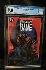 Batman: Vengeance of Bane Special #1 CGC 9.8 DC 1993 1st Bane! M6 126 clean