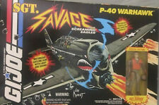 Sargent Savage P-40 Plastic Fighter Plane