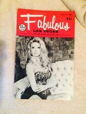 Fabulous Las Vegas Magazine Angelique Pettyjohn Minsky's Burlesque Lads 7/5/1969