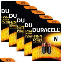 10 x Duracell Alkaline N batteries LR1 1.5V MN9100 E90 AM5