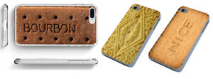 Bourbon Custard Cream phone case english tea biscuit for iPhone HTC