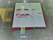 "Ballistic Bullet Proof Glass Teller Window 3 Piece Set 65"" x 48"" Bulletproof"
