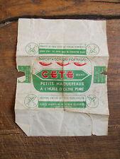 papier d'emballage petits maquereaux CETE brand - du Portugal