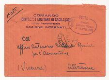 Z486-RSI-COMANDO MILITARE DI SACILE SEZIONE INTERNATI 1944