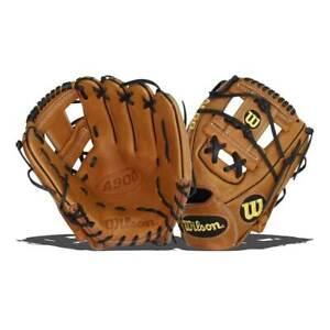 "Wilson A900 11.5"" Baseball Glove: WTA09RB20115 Right Hand Thrower NEW"