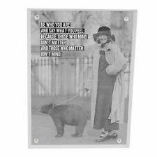 Acrylic Magnetic Block Photo Frame - 5 X 7""