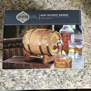 Dashing Mini Whiskey Barrel 27 Fl Oz 800 ml