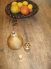 LAMPE BERGER ANCIENNE ET COMPLETE BEIGE/MARRON TBE