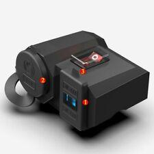 Motocicleta Cargador doble USB Adaptador de corriente Enchufe Impermeable