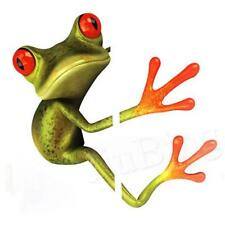 Medium Frog Decal/Sticker-Funny/Cute-for Wall/Car/Toilet, Etc-Waterproof-Style 2