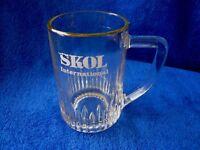 Vintage Skol Lager Half-Pint Glass