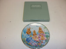 "Avon ""Colorful Moments"" 1992 Easter Plate 5"" Diameter"