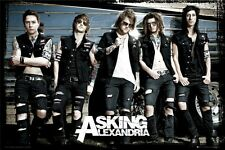 ASKING ALEXANDRIA ~ TOUR BUS 24x36 MUSIC POSTER Rock Group Ben Bruce