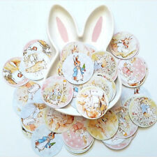 80 x Peter Rabbit Cake Topper Birthday Party Baby Shower DIY Cupcake 2.5 inches