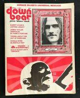 DOWN BEAT MAGAZINE - April 1 1971 - JAMES TAYLOR / Horace Silver / Donald Boyd