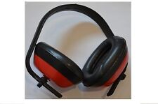 Red Ear Muff / Plug / Defender Noise Reduction Builders Protection Construction