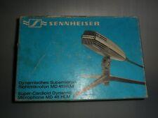 More details for german sennheiser md 411 hlm  microphone & stand