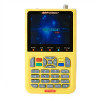 3.6'' 1080P HD V8 Satellite  Signal Finder DVB-S/S2 Digital FTA Meter LCD Screen