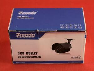 "Zmodo CCD Bullet Outdoor Security Camera 1/4"" Sony Color CCD Image Sensor 420TVL"