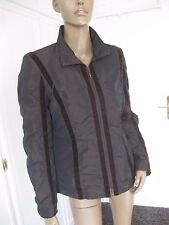 Betty Barclay tolle  Jacke Gr. 40 braun changiert