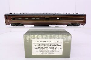 Challenger Imports Brass HO PRR 1938 Broadway Limited Harbor Springs 2127.1B