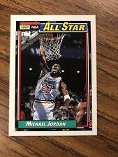1992-93  MICHAEL JORDAN Topps All-Star Basketball Card # 115 - Chicago Bulls