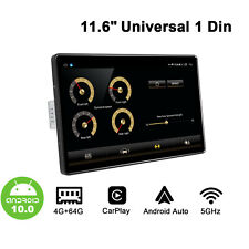 Joying 11.6 Inch Android 10 Universal Single DIN Touchscreen Built-in DSP 4g 64g