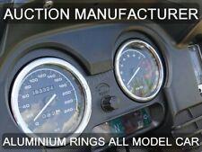 BMW R 1150 RT Polished Aluminium Trim Rings Instrument Cluster x2