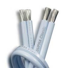 Supra Classic 4.0T Speaker Cable Per Metre, Blue